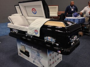 Baseball Team Casket