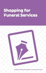 FTC Shopping for Funeral Services brochure cover