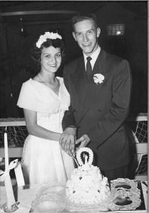 Humenick Wedding 1950