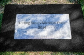 Lasting Beauty Memorial Frame