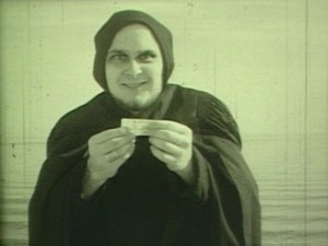 "Bob Lalush as Death in ""The Bubblegum Film"""