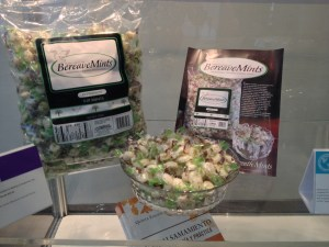 BereaveMints on display at the NFDA convention