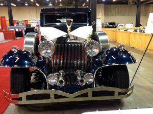 Hearse Grille and Hood