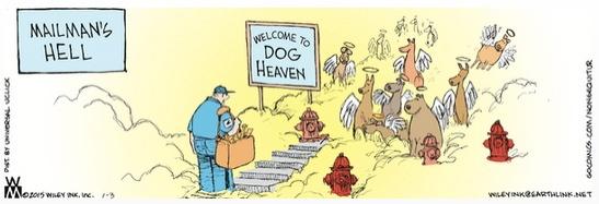 Non Sequitur Mailman's Hell