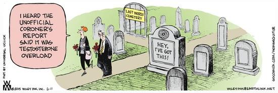 Last Words Cemetery Testosterone OD
