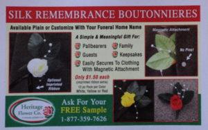 Silk Boutonnieres