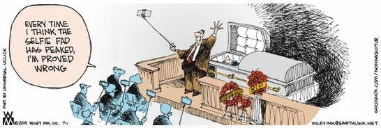 Funeral Selfies Non Sequitur