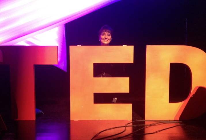 TED logo with Gail