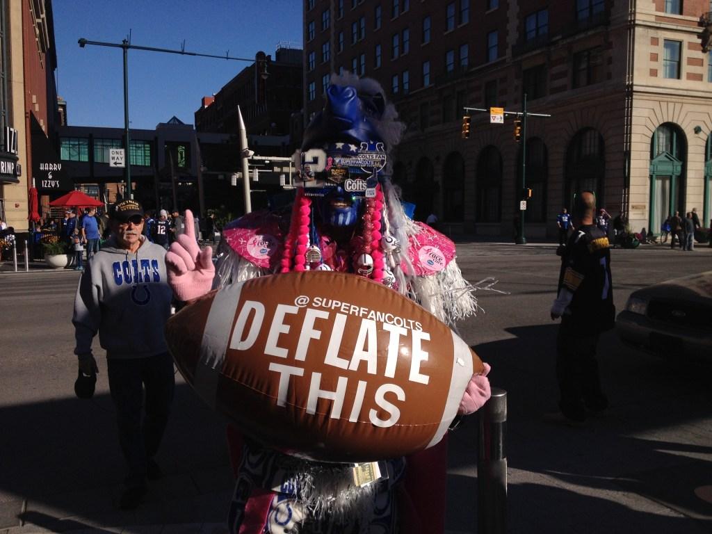 The Colts Super Fan