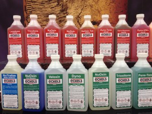 Embalming Fluid Bottles