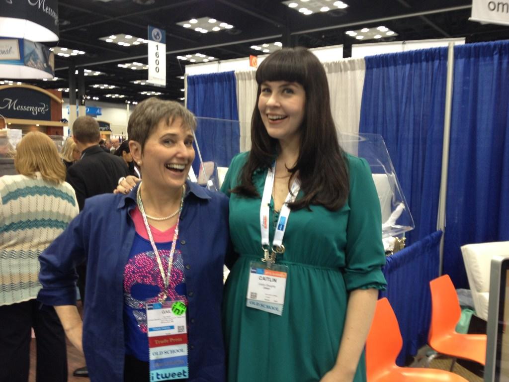 Gail Rubin and Caitlin Doughty