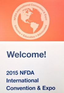 NFDA Welcome Sign