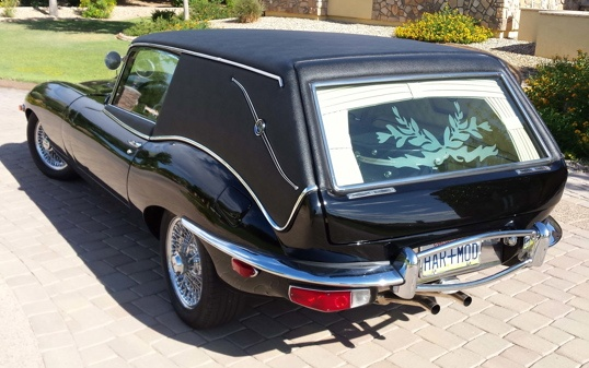 H&M Jaguar hearse