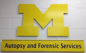 Autopsy Services Sign