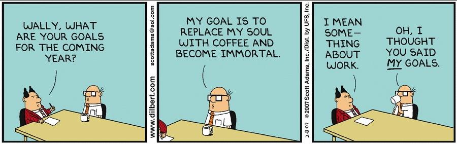 Dilbert Wally Immortal