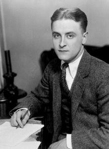 F Scott Fitzgerald circa 1921
