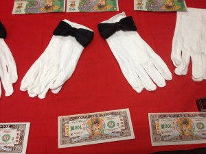 Chinese Funeral Gloves and Money