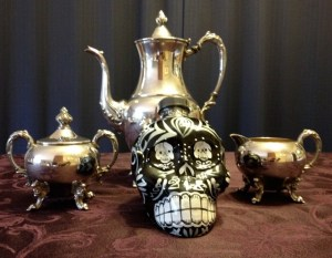 ABQ Death Cafe tea service