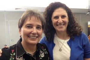 Gail Rubin and Jamie Sarche
