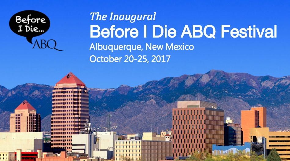 Before I Die ABQ Banner