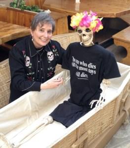 Gail Rubin and Lola
