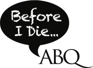 Before I Die ABQ logo