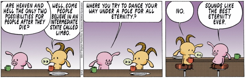 Pearls Before Swine Limbo