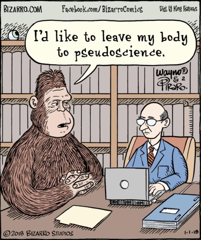 Bizarro Pseudoscience