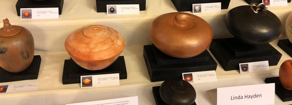 Urns by Linda Hayden