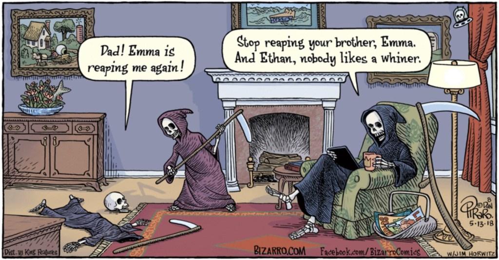 Bizarro Grim Reaper Family