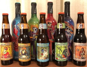 Muerto beer and wine