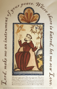 Arturo Olivas Saint Francis Prayer