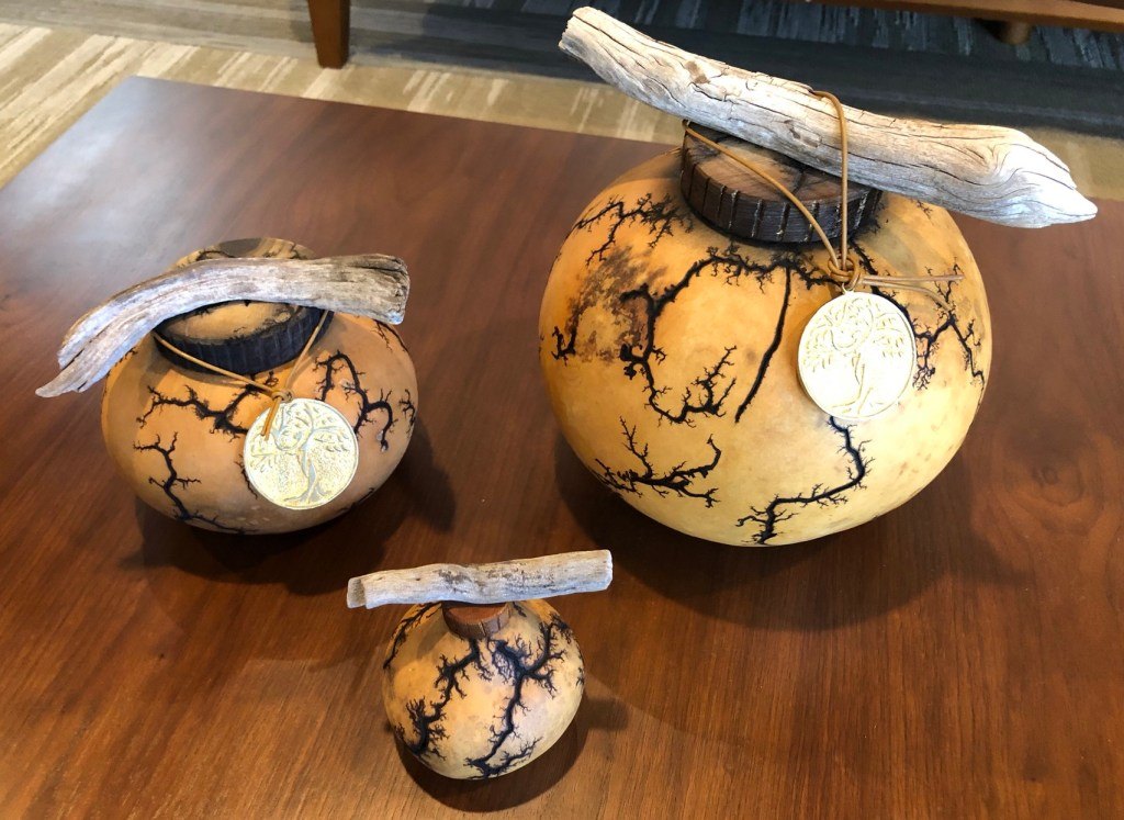 Passages Gourd Urns