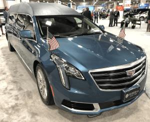 Cadillac Hearse at 2018 NFDA