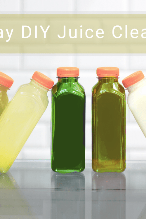 How To: One-Day Detox DIY Juice Cleanse