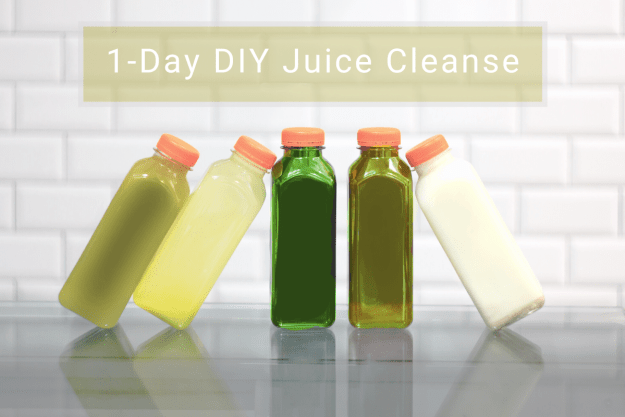 One-Day DIY Detox Juice Cleanse | A Good Hue