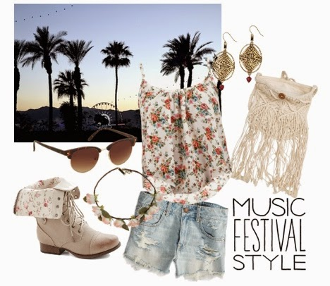 Saturday Style: Music Festival Fashion
