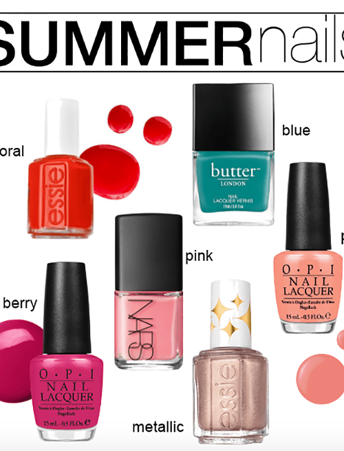 Nail Color Picks & Tips For Summer-Ready Toes