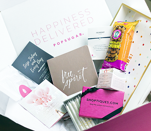 Celebrating with the August POPSUGAR Must Have  Box + Coupon Code
