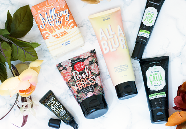 Perfectly Posh Fall 2018 New Products
