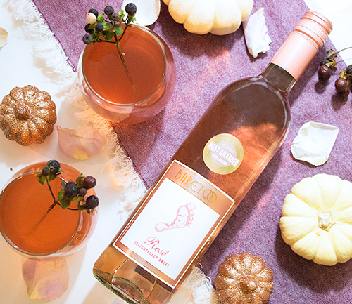 Fall for Rosé Harvest Cocktail Recipe