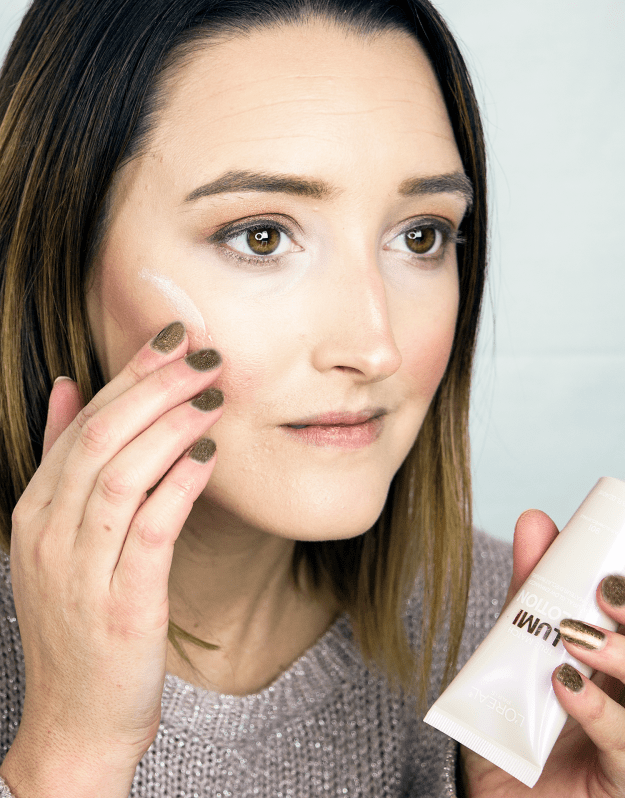 New Year's Eve Makeup Look with L'Oreal Lumi