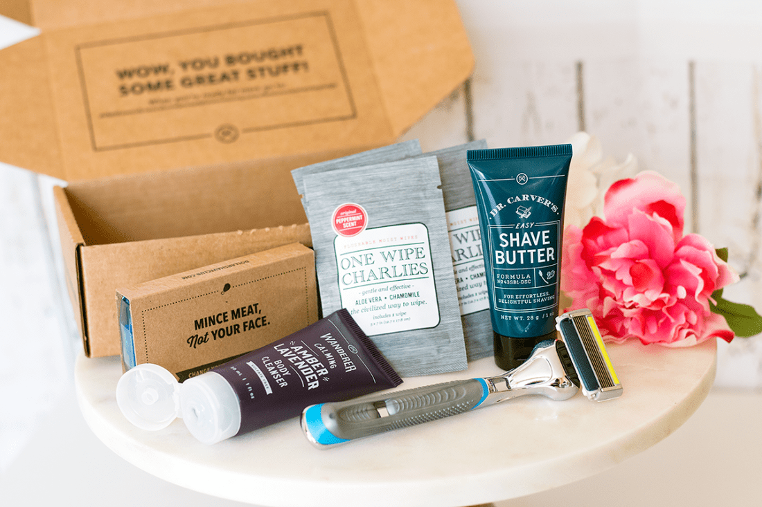 $5 Starter Set with Dollar Shave Club | A Good Hue