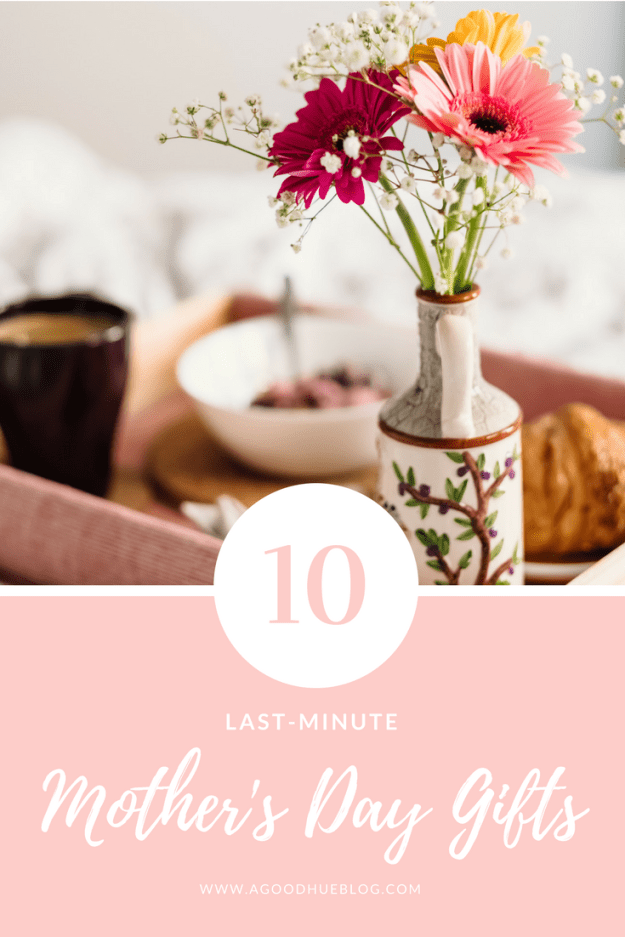 10 Last Minute Mother's Day Gifts from Amazon | A Good Hue