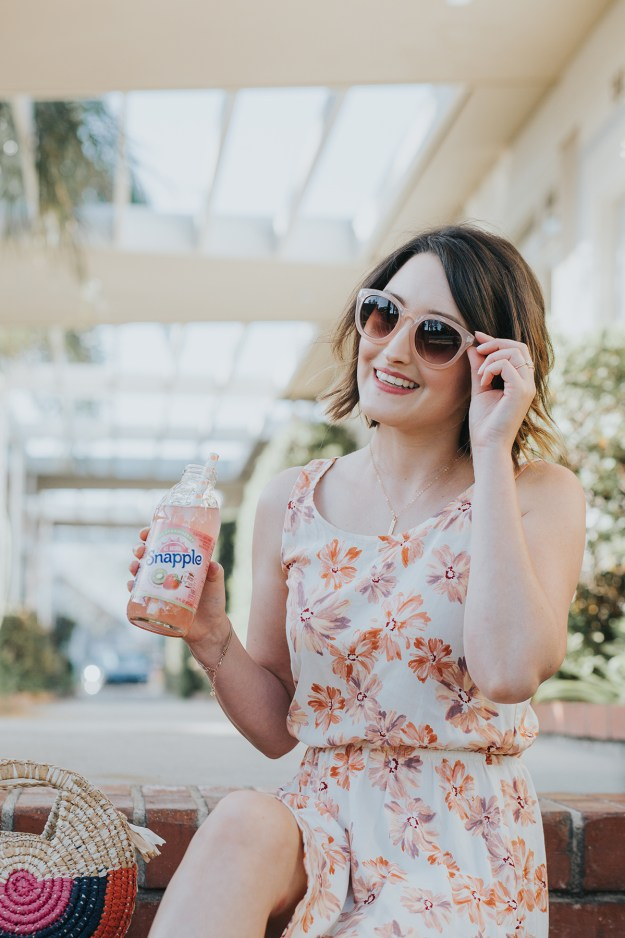 Afternoon Sips with Snapple at Kroger | A Good Hue #AmplifyOC