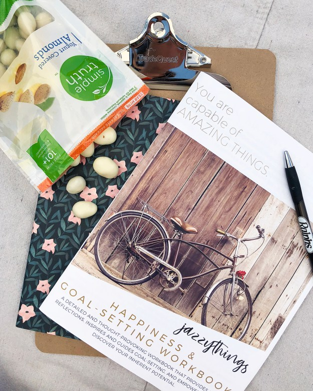 Goal Setting with Jazzythings & Kroger at Amplify Retreat | A Good Hue #AmplifyOC