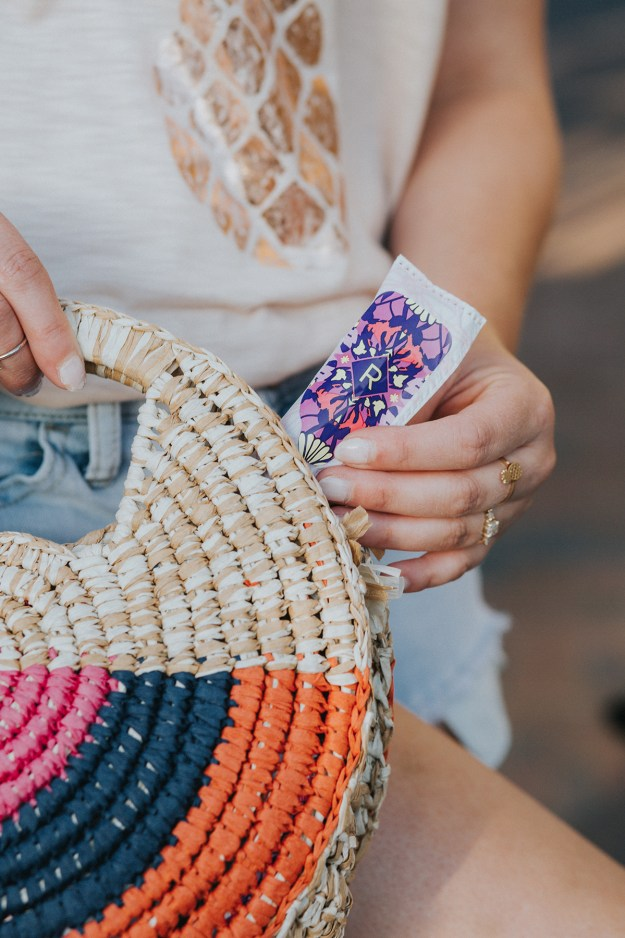 Summer Style Tips: Radiant Refresh with Tampax Radiant Pocket | A Good Hue