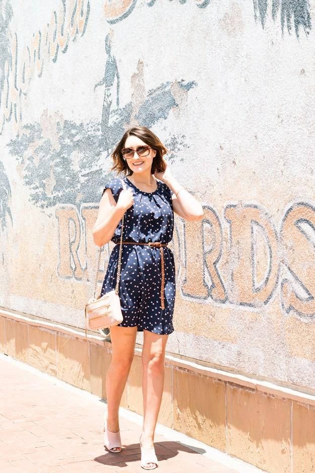 Summer Style: Cat Print Dress |  A Good Hue