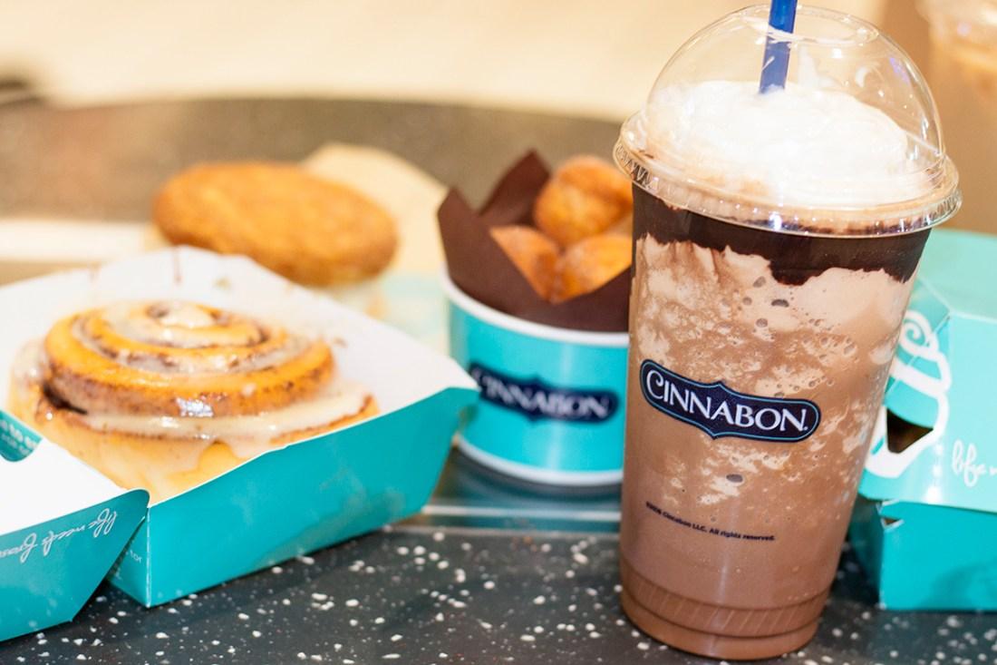 Midday Pick-Me-Up Treats with Cinnabon | A Good Hue