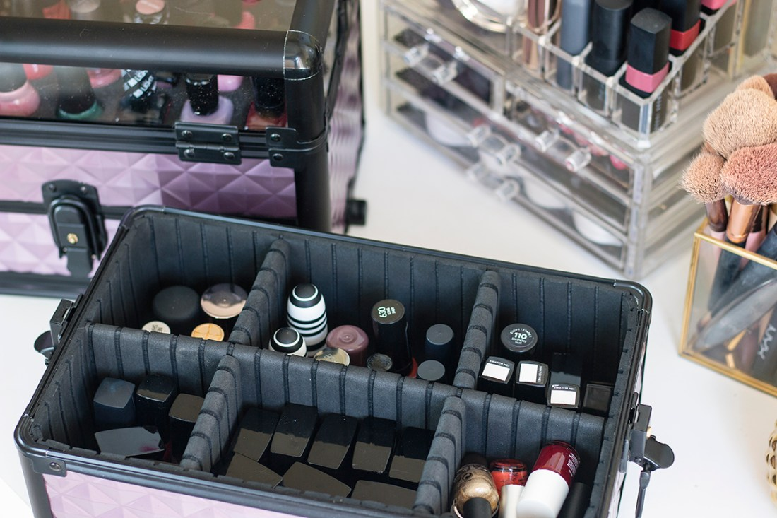 Joligrace Makeup and Nail Polish Train Case | A Good Hue